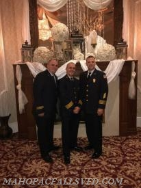 Chief Brian Sacher, 1st Asst. Chief Jeff Boyle, & 2nd Asst. Chief Robert Trace