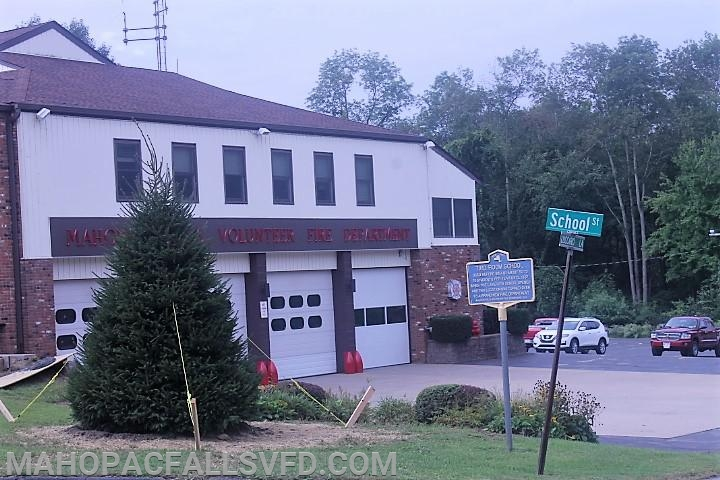 New tree has a home at the Falls Fire Headquarters